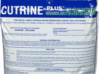 Cutrine plus granular 30 lb bag